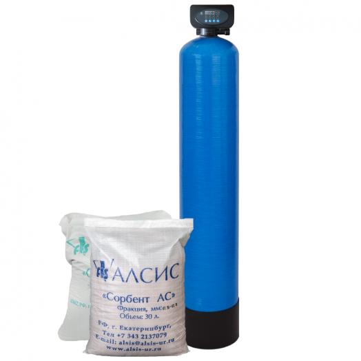 Фильтр для очистки воды от железа из скважины WFSR 1054P